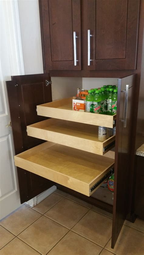 Custom Pull Out Cabinet Drawers