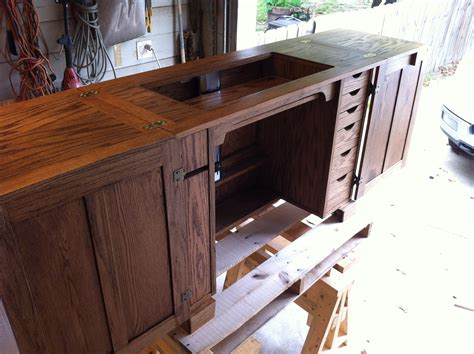 Custom Sewing Cabinet Plans