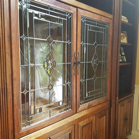 Custom Size Glass Cabinet Doors