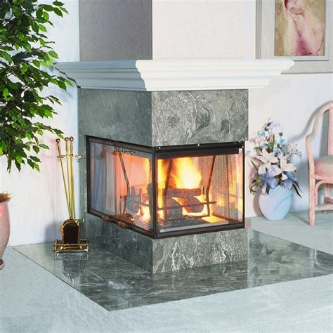 Custom Wood Burning Fireplaces