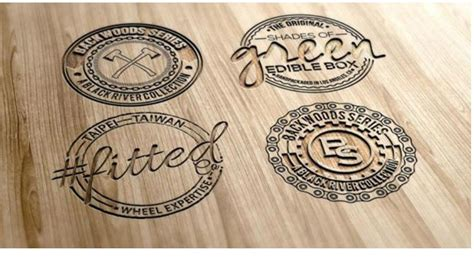 Custom Wood Burning Logo
