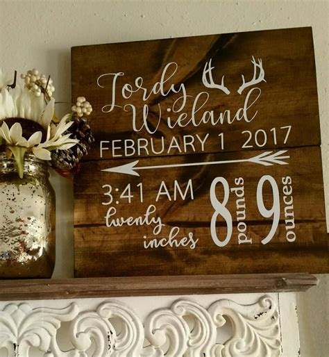 Custom Wood Signs Diy For Baby