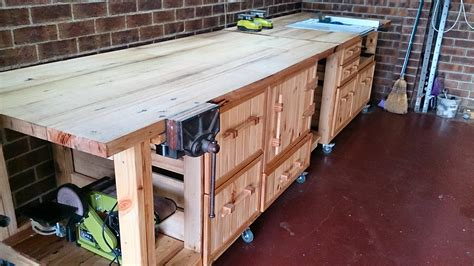 Custom Workbenches Woodworking