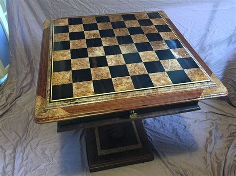 Custom-Chess-Table
