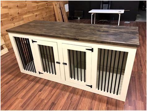 Custom-Dog-Crate-Furniture-Plans