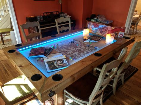 Custom-Gaming-Table-Plans
