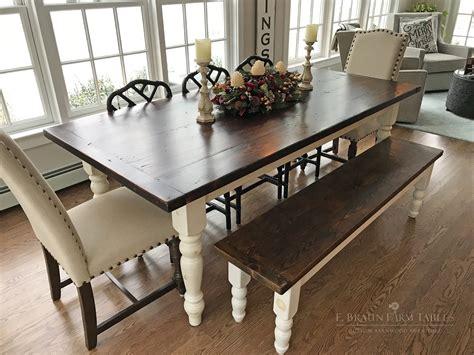 Custom-Made-Wood-Farm-Tables