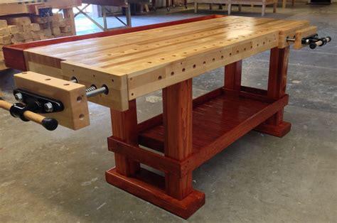 Custom-Woodworking-Workbench