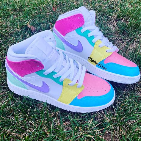 Customized Nike Sneakers For Girls