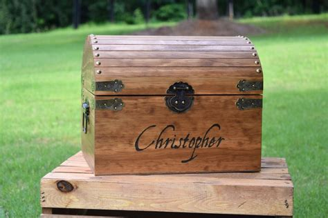 Customized Pirate Chest Toy Box Plans