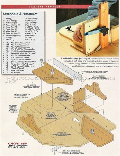 Cut Off Saw Bench Plans