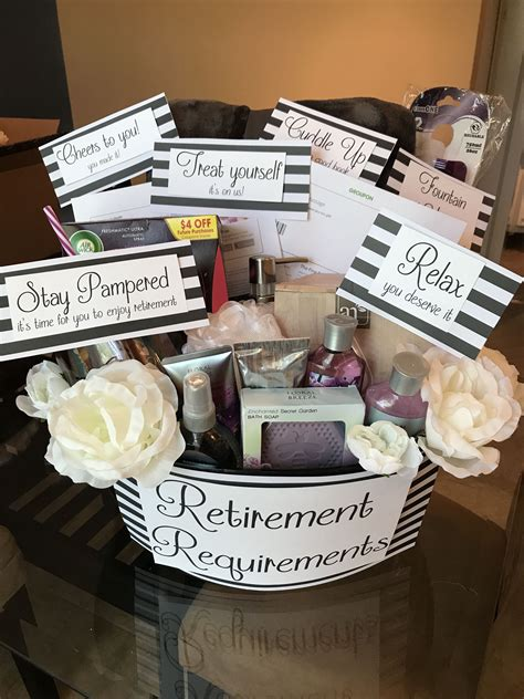 Cute Diy Retirement Gifts