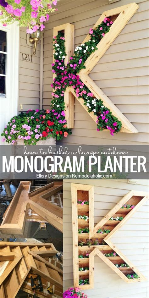 Cute Easy Diy Garden Boxes