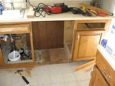 Cutting Cabinets For Dishwasher Install