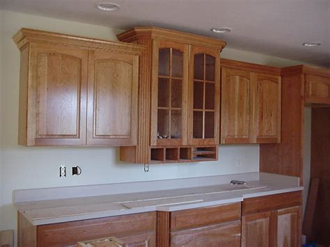 Cutting Crown Molding On Kitchen Cabinets