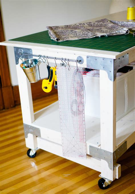 Cutting Table For Sewing Diy