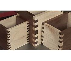 Best Cutting box joints