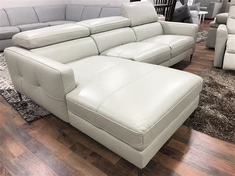 Cyber Monday Reclining Leather Loveseat With Console