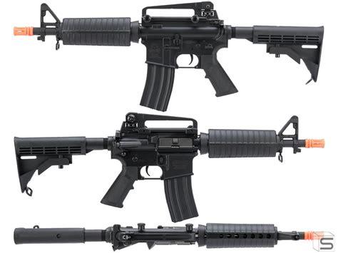 Cyma Full Metal M4 Commando Airsoft Aeg Rifle Review And Ddi Ak 47 Rifle Review