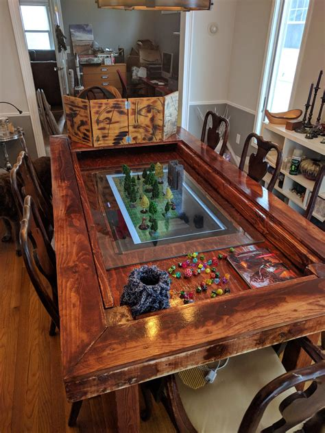 D D Gaming Table Diy With Shelf