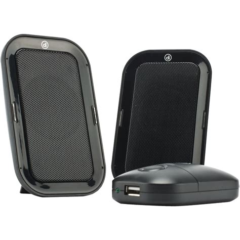 DIGITAL INNOVATIONS 4330600 AcoustiX Deluxe Portable Speakers