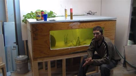 DIY 300 Gal Plywood Tank Aquarium