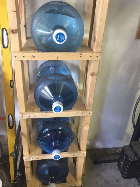 DIY 5 Gallon Water Jug Rack