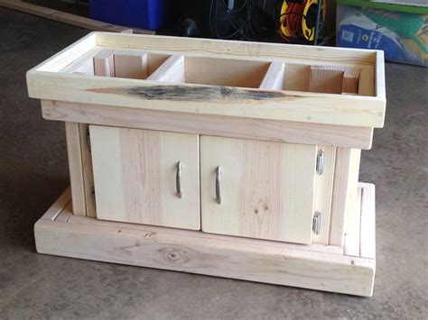 DIY 55 Gallon Aquarium Stand Plans