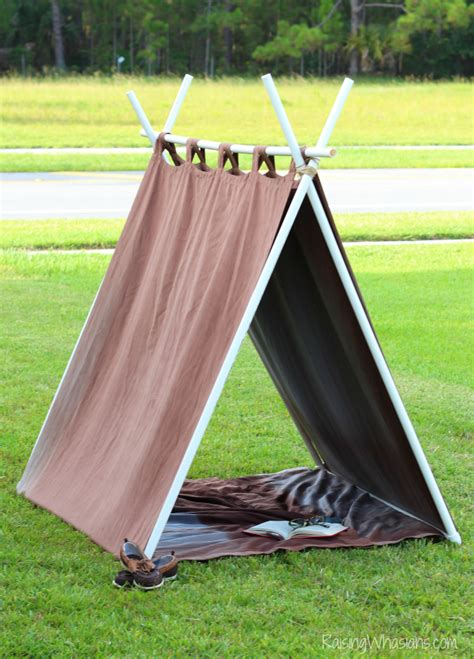 DIY A Frame Tent Instructions