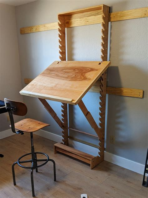 DIY Adjustable Angle Desk