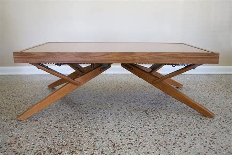 DIY Adjustable Height Dining Table