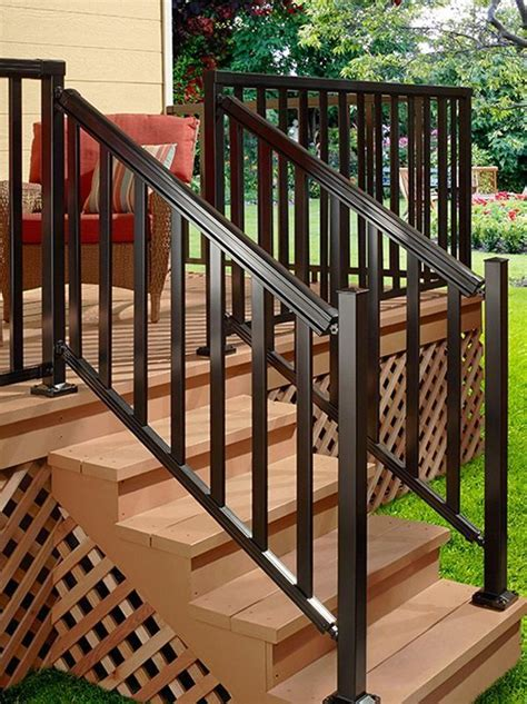 DIY Aluminum Porch Railing