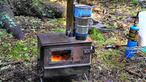 DIY Ammo Box Stove