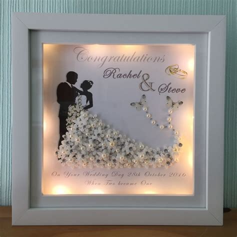 DIY Anniversary Picture Frame