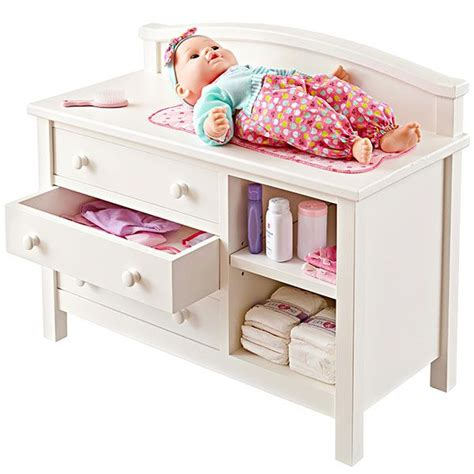 DIY Baby Doll Changing Table