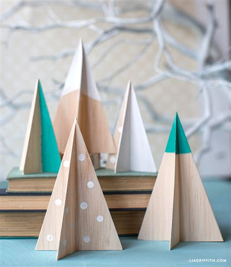 DIY Balsa Wood Christmas Tree