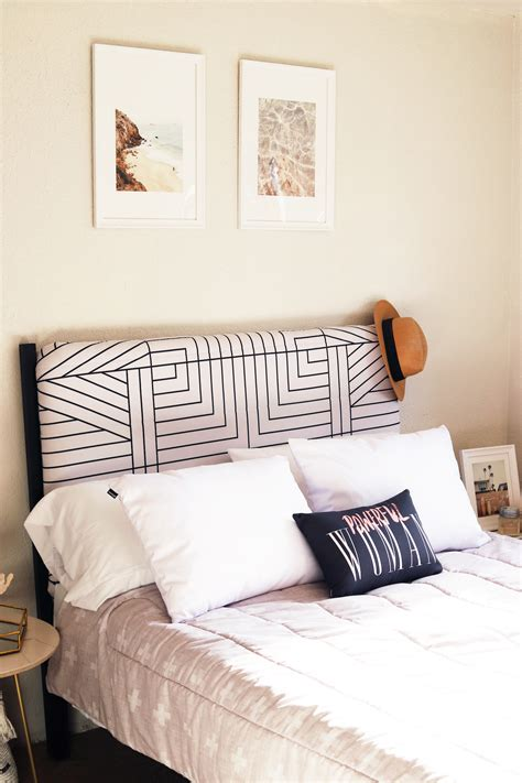 DIY Bed Headboard Upholstered