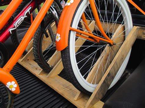 DIY Bike Stand For Truck Bed