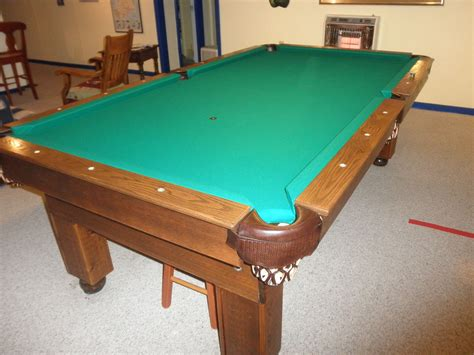 DIY Billiard Table Recovery