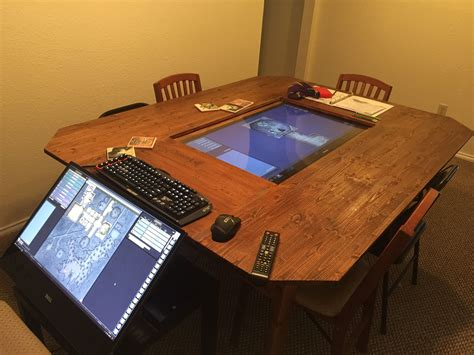 DIY Board Game Table With Screen