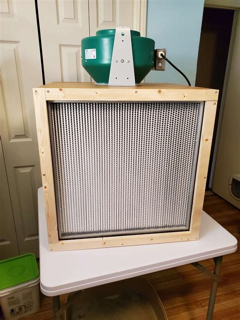 DIY Box Fan Flowhood