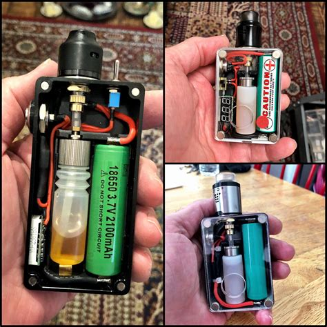 DIY Box Mod Vape Kit