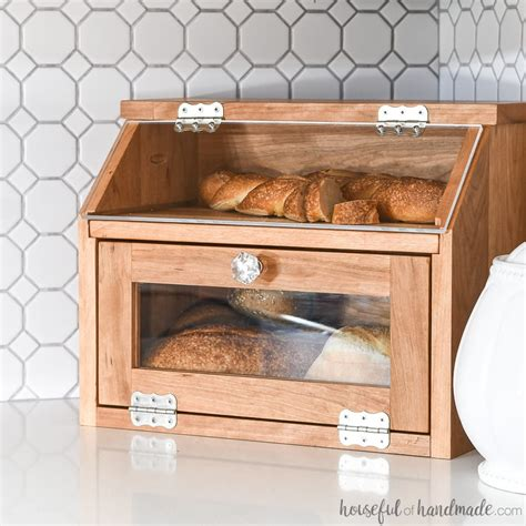 DIY Bread Box Plans