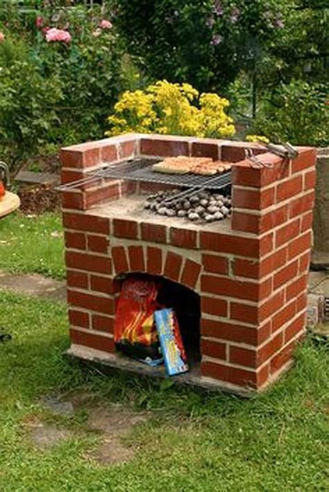 DIY Brick Braai Plans