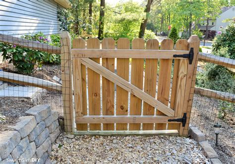 DIY Build A Wood Gate