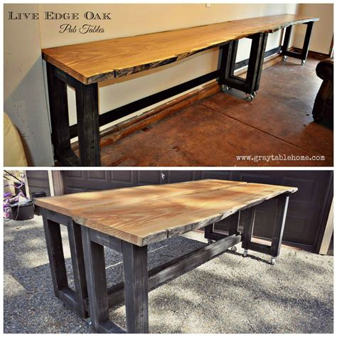 DIY Build Bar Table