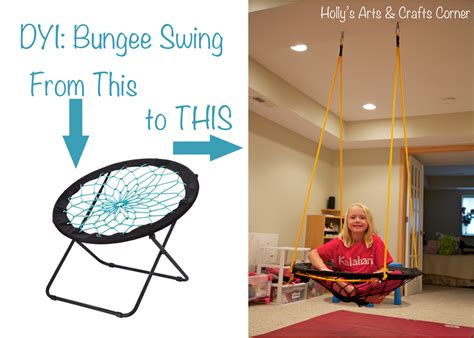 DIY Bungee Chair Swing