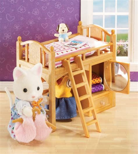 DIY Calico Critter Bunk Bed