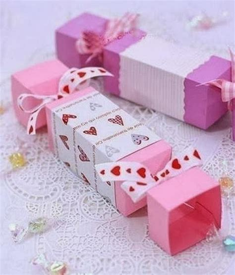 DIY Candy Favor Boxes
