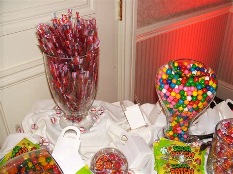 DIY Candy Tables